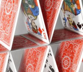 kaartspellen met bluf